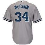 Majestic Men's New York Yankees Brian McCann #34 Cool Base® Replica Jersey