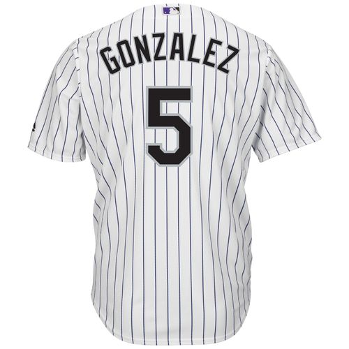 Majestic Men's Colorado Rockies Carlos Gonzalez #5 Cool Base® Jersey