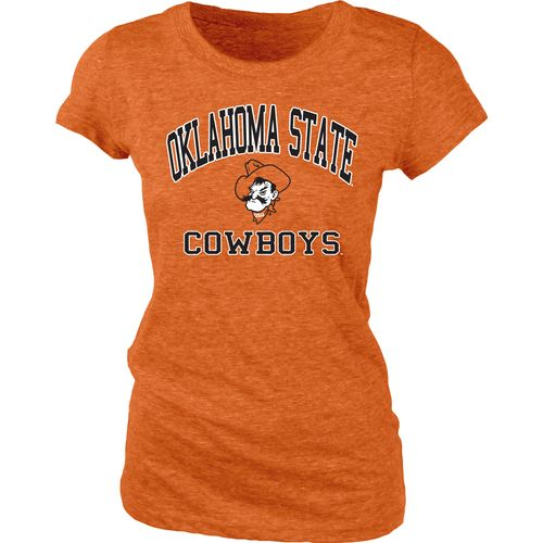 Blue 84 Juniors' Oklahoma State University Triblend T-shirt
