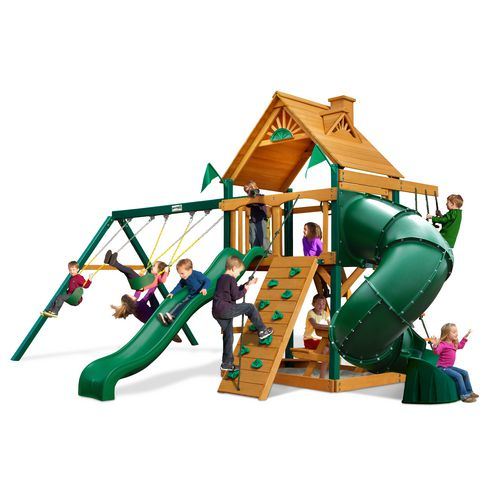 Gorilla Playsets™ Mountaineer Swing Set with Timber Shield™ - view number 1
