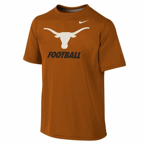 Nike Boys' University of Texas Locker Room Dri-FIT
