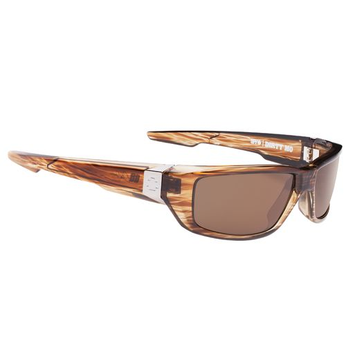 SPY Optic Adults' Dirty Mo Tortoiseshell Happy Polarized Sunglasses