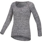 BCG™ Women's Voyager Space Dye Long Sleeve Scoop Neck Shirt