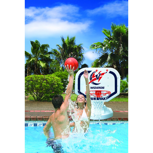Poolmaster® Washington Wizards Competition Style Poolside Basketball Game - view number 2