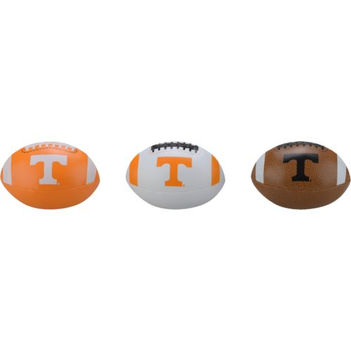Rawlings® Boys' University of Tennessee 3rd Down Softee 3-Ball Football Set - view number 1