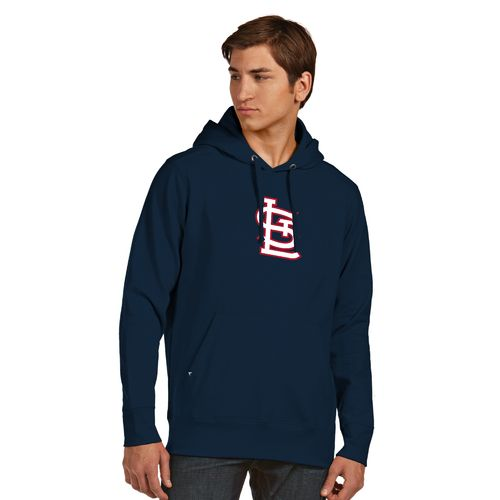 Antigua Men's St. Louis Cardinals Signature Pullover Hoodie