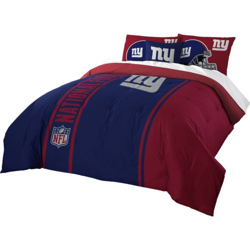 The Northwest Company New York Giants Full-Size Comforter and Sham Set