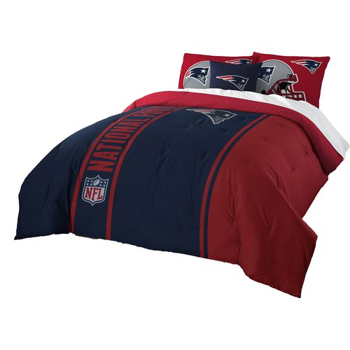 The Northwest Company New England Patriots Full-Size Comforter and Sham Set
