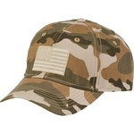 Academy Sports + Outdoors Men's Americana Camo Twill Hat - view number 1