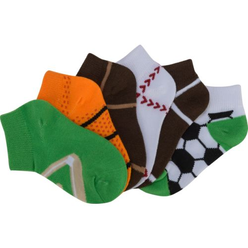 BCG Toddlers' Ultrathin No-Show Socks