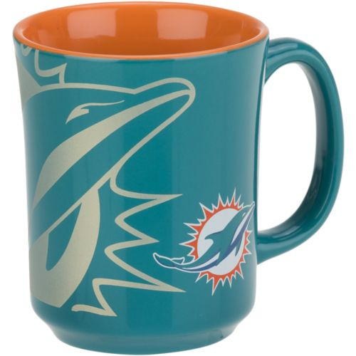 The Memory Company Miami Dolphins 11 oz. Reflective Mug