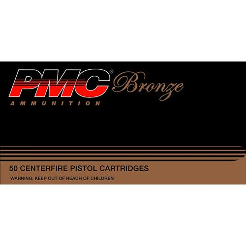 PMC Bronze .40 S&W 165-Grain Jacketed Hollow Point Centerfire Handgun Ammunition