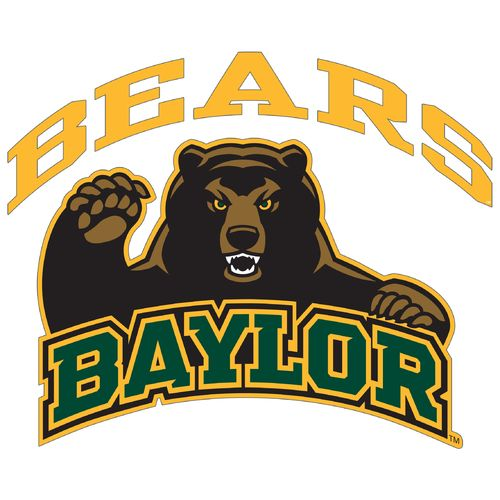 "Stockdale Baylor University 8"" x 8"" Vinyl Die-Cut"