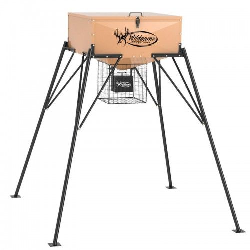 Display product reviews for Wildgame Innovations™ Heavy Metal™ 200 lb. Game Feeder