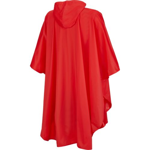 Storm Duds Adults' University of Houston Slicker Heavy Duty PVC Poncho - view number 2
