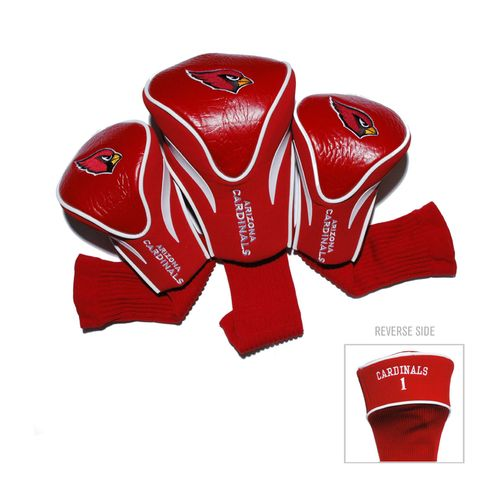 Team Golf Arizona Cardinals Contour Sock Head Covers 3-Pack