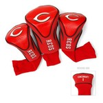 Team Golf Cincinnati Reds Contour Sock Head Covers 3-Pack - view number 1