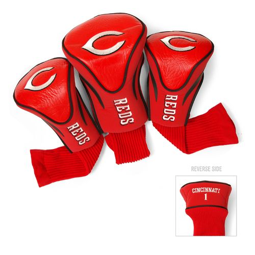 Team Golf Cincinnati Reds Contour Sock Head Covers 3-Pack