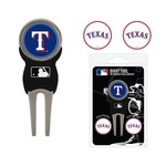 Team Golf Texas Rangers Divot Tool and Ball Marker Set - view number 1
