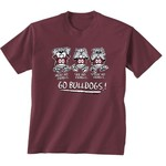 New World Graphics Toddlers' Mississippi State University No Evil T-shirt