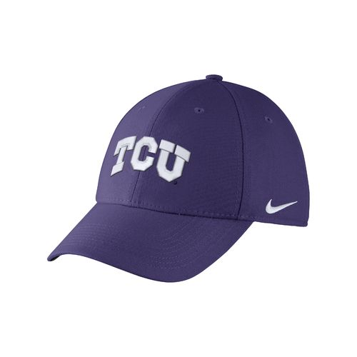 Nike™ Adults' Texas Christian University Swoosh Flex Cap