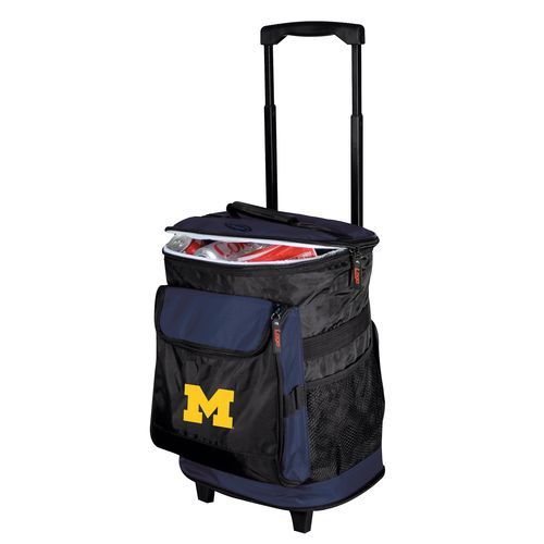 Logo™ University of Michigan 48-Can Rolling Cooler