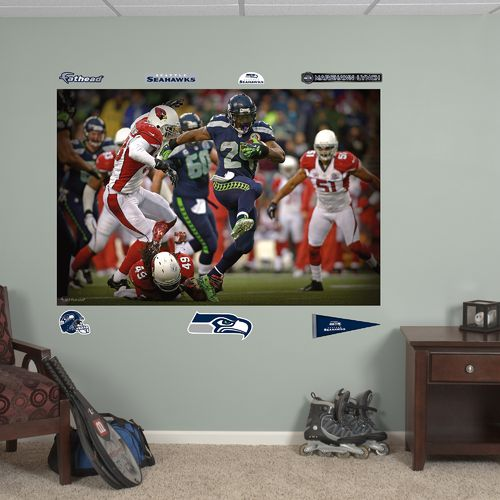 Fathead Seattle Seahawks Marshawn Lynch In Your Face