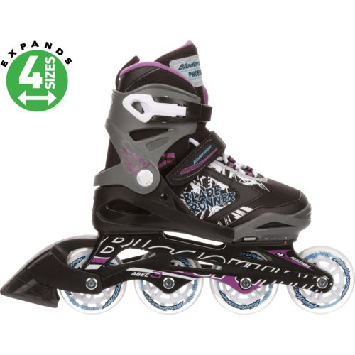 Display product reviews for Bladerunner Girls' Phoenix Adjustable In-Line Skates