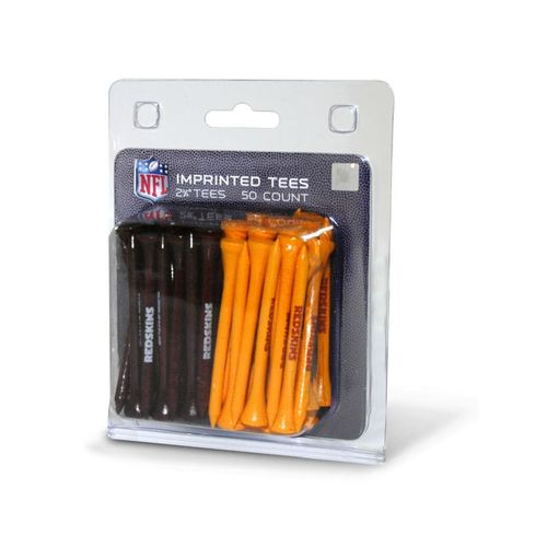 Team Golf Washington Redskins Golf Tees 50-Pack