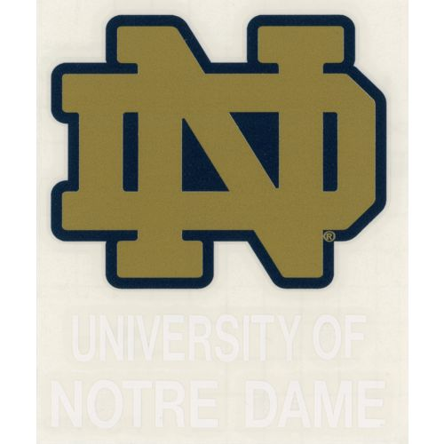 Stockdale University of Notre Dame Decal