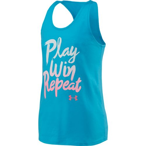 Under Armour™ Girls' Play Win Repeat Tank Top