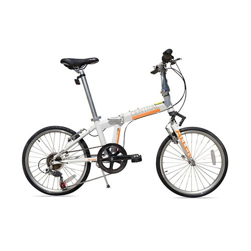 Allen Sports Adults' Central 451 mm 7-Speed Folding Bicycle