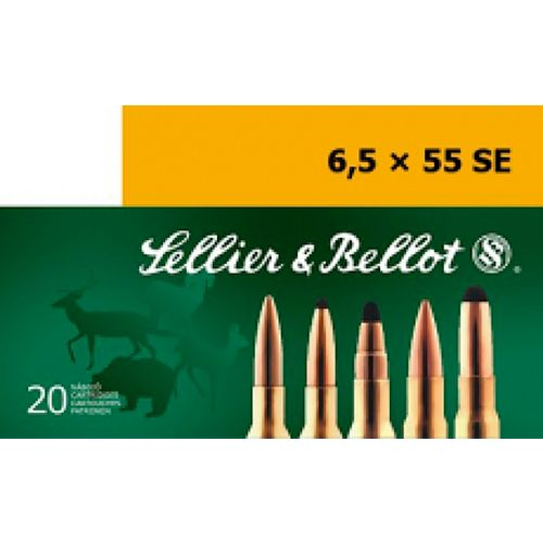 Sellier & Bellot Full Metal Jacket Centerfire Rifle Ammunition