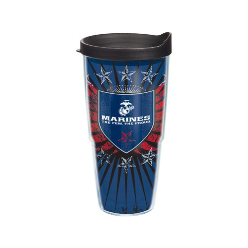 Tervis United States Marine Corps 24 oz. Tumbler United States Marine Corps