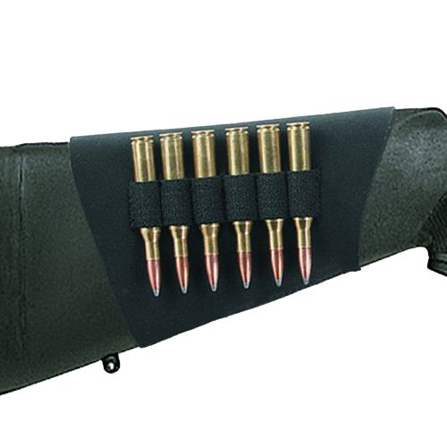 Uncle Mike's Rifle Buttstock 6-Shell Holder