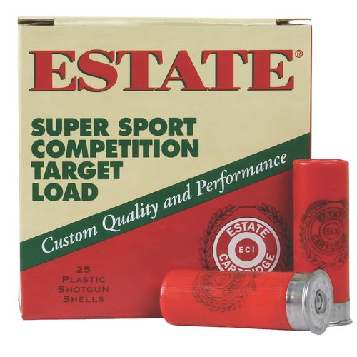 Display product reviews for Estate Cartridge Super Sport Competition Target 12 Gauge Shotshells