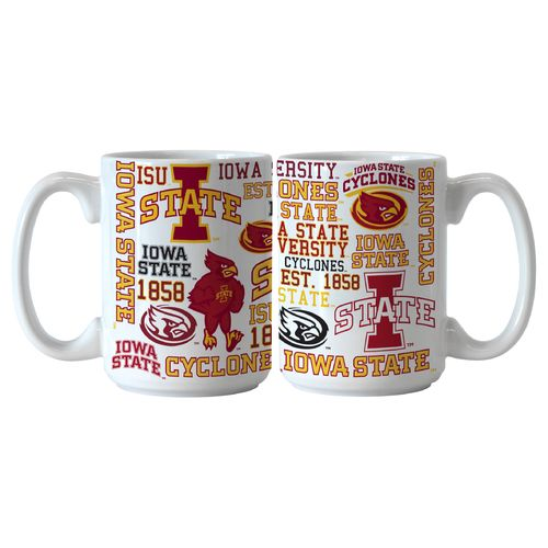 Boelter Brands Iowa State University Spirit 15 oz. Coffee Mugs 2-Pack