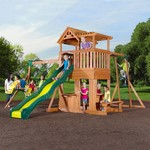 Backyard Discovery™ Thunder Ridge Wooden Swing Set - view number 2