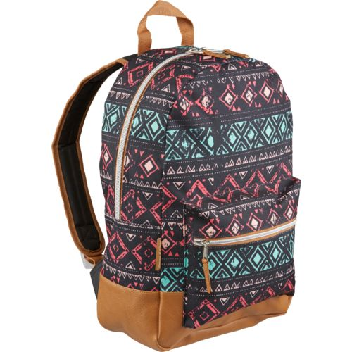 A.D Sutton Girls' Vinyl Bottom Dome Backpack