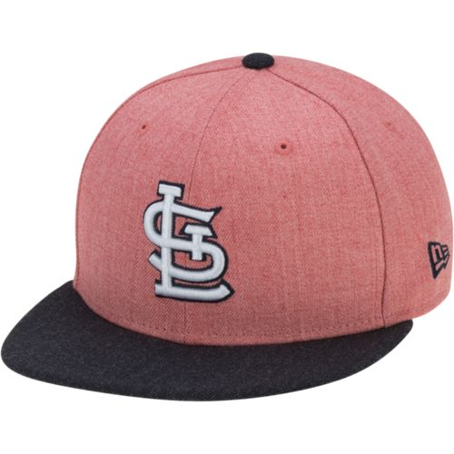 New Era Men's St. Louis Cardinals Heather Action 59FIFTY Cap