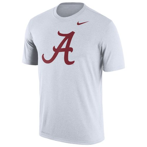 Nike Men's University of Alabama Dri-FIT Legend Logo Short Sleeve T-shirt - view number 1