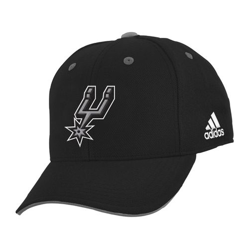adidas Boys' San Antonio Spurs Basic Structured Adjustable Cap