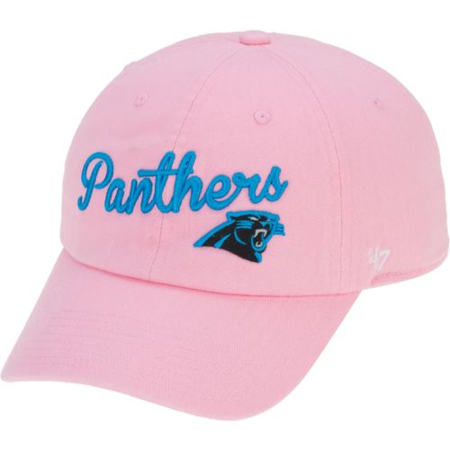 '47 Women's Carolina Panthers Script Clean Up Cap