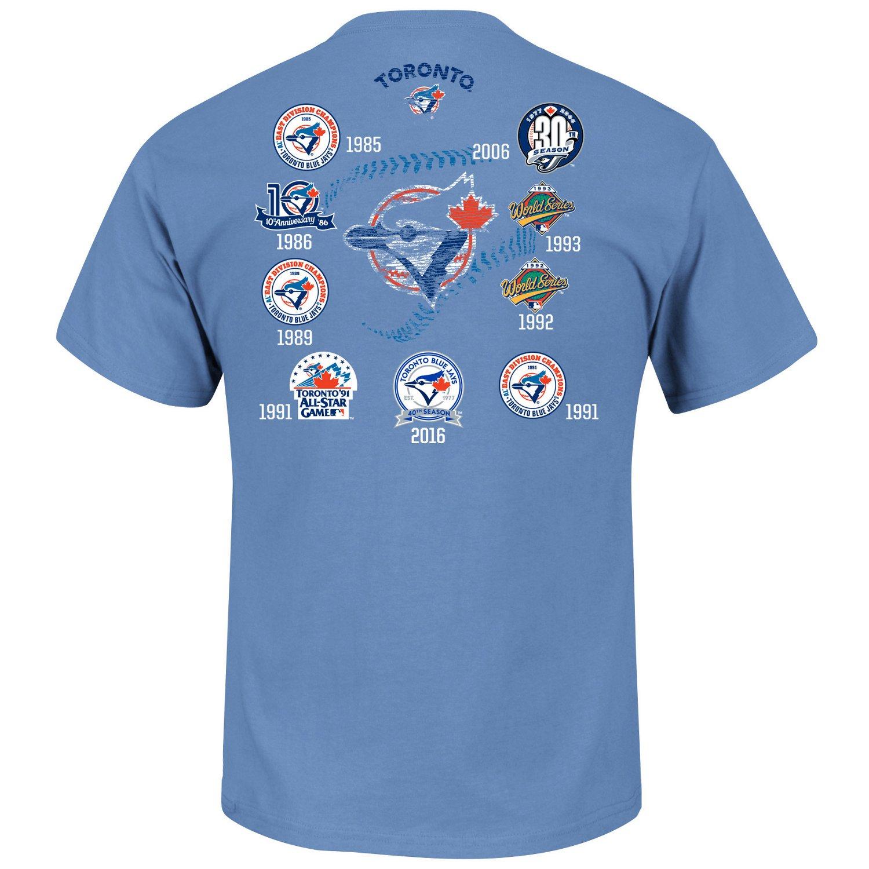 Majestic Men's Toronto Blue Jays Last Rally T-shirt