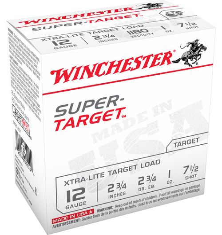 Winchester Super Target™ 12 Gauge 7.5 Shotshells