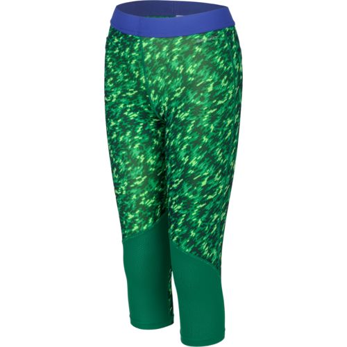 Nike Girls' Pro Cool Allover Print 1 Capri Pant