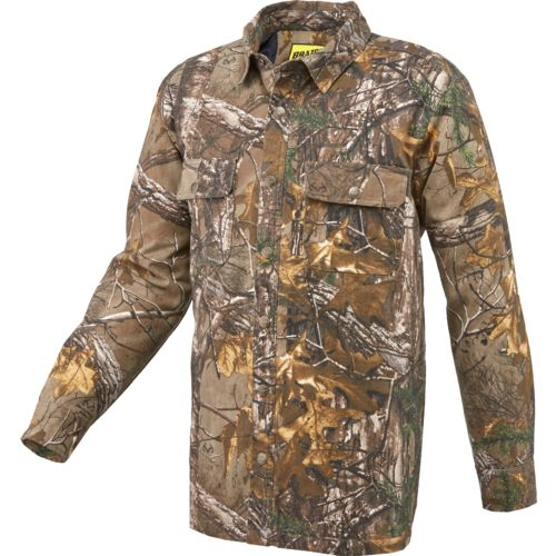Brazos Men's Logger Realtree Xtra Shirt Jacket