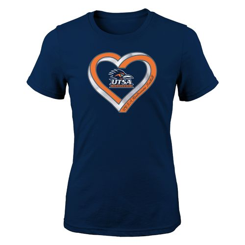 Gen2 Girls' University of Texas at San Antonio Infinite Heart Fashion Fit T-shirt
