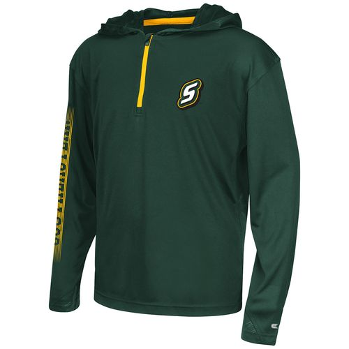 Colosseum Athletics™ Boys' Southeastern Louisiana University Sleet 1/4 Zip Hoodie Windshirt