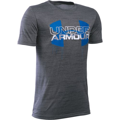 Under Armour™ Boys' Big Logo Hybrid T-shirt
